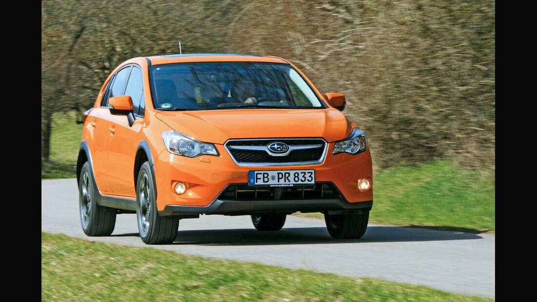 Subaru XV 2.0i, Frontansicht