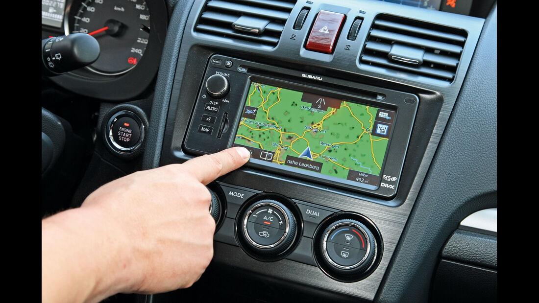 Subaru XV 2.0i, Navi, Touchscreen