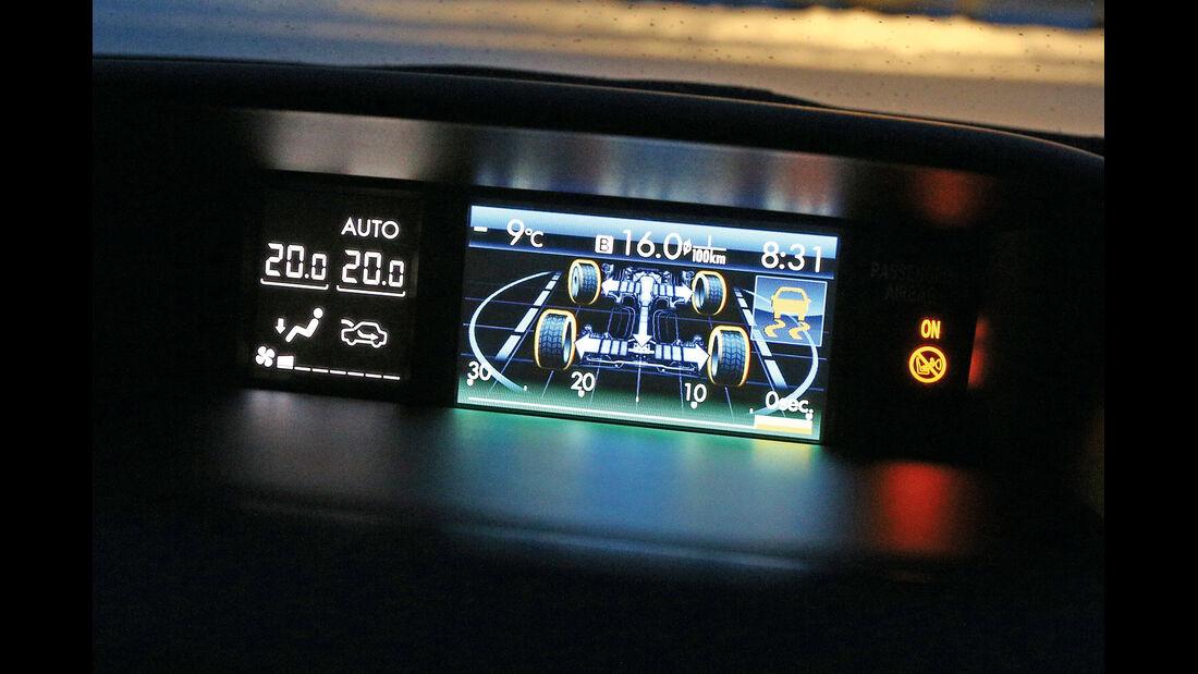 Subaru XV 3.0D, Monitor, Display