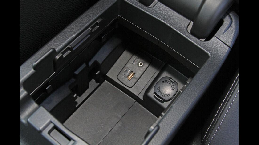 Subaru XV, Ablagefach