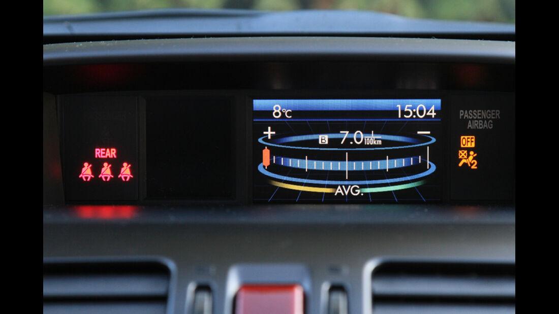 Subaru XV, Eco-Drive-Display