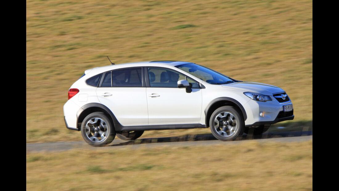 Subaru XV, Seitenansicht