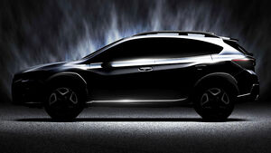 Subaru XV Teaser Genf 2017