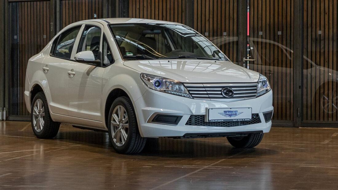 Suda SA 01 Elektroauto China Billig