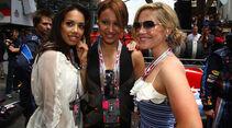 Sugababes beim GP Monaco