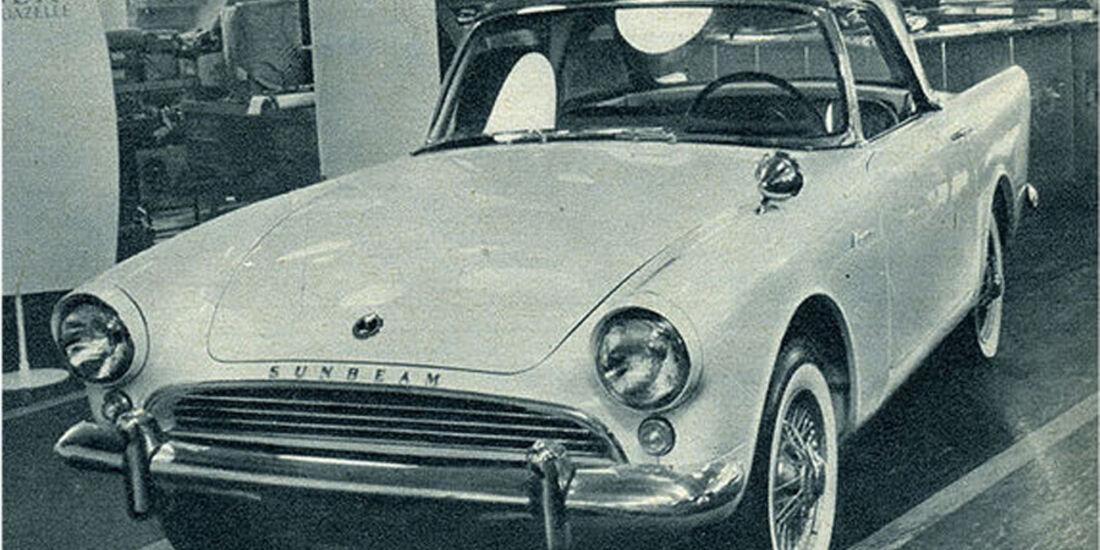 Sunbeam, Alpine, IAA 1959