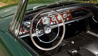 Sunbeam Alpine, Lenkrad, Cockpit