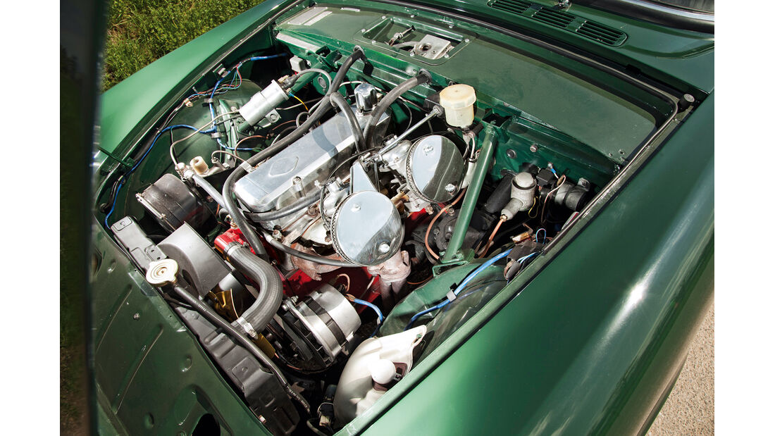 Sunbeam Alpine, Motor