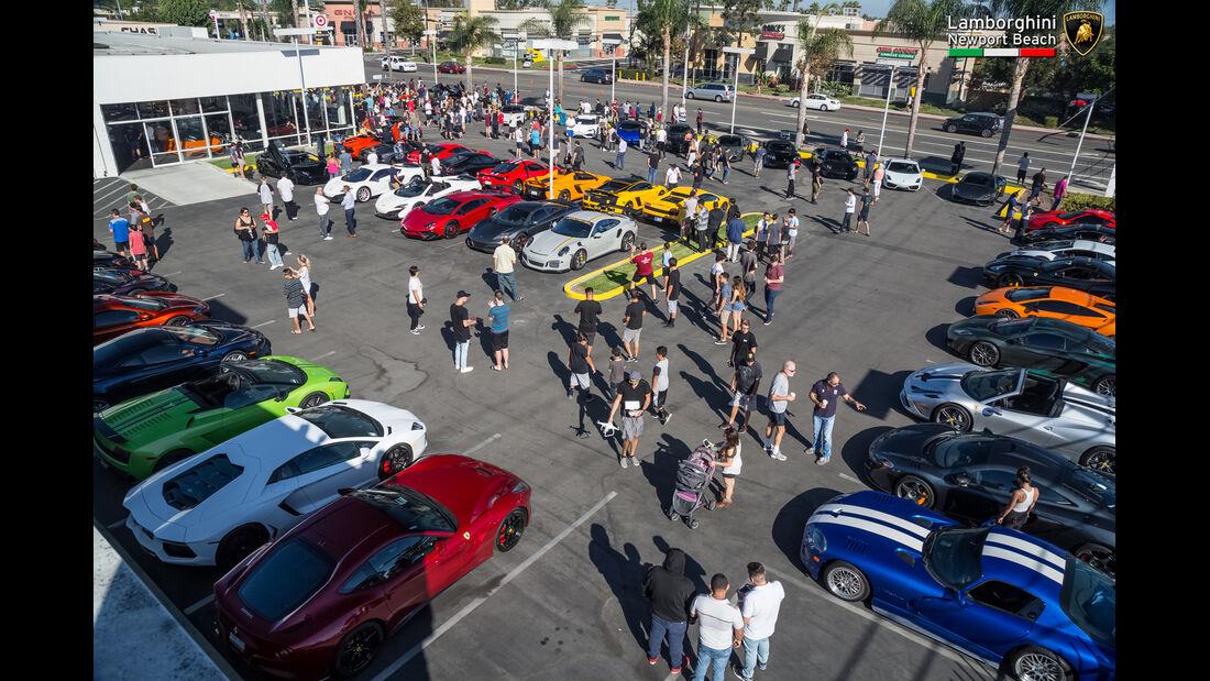 Supercar-Show - Newport Beach - Oktober 2016