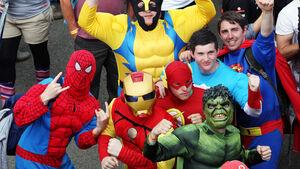 Superhelden GP England Silverstone 2012