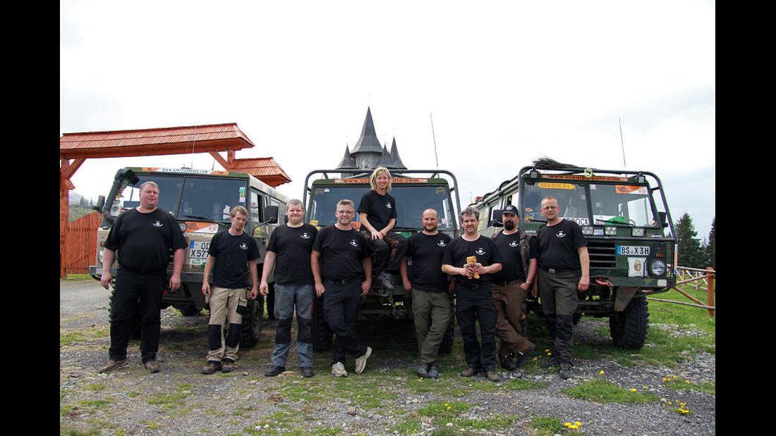 Superkarpata Trophy 2013 – Team Bedrock Tagebuch