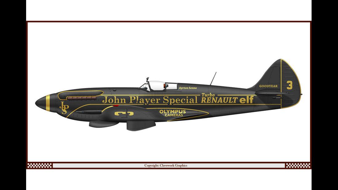 Supermarine Spitfire - Lotus - Racing-Planes - 2015