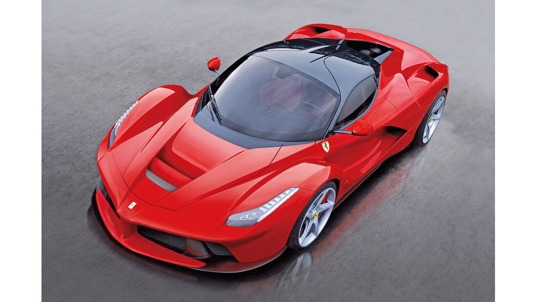 Supersportler, Ferrari La Ferrari V12