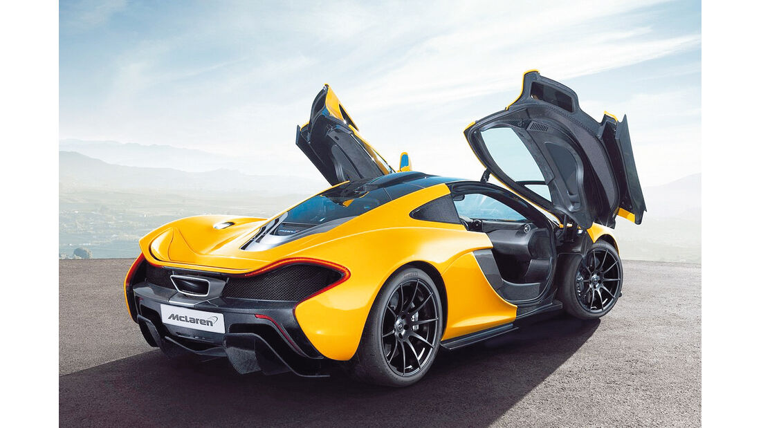 Supersportler, McLaren P1