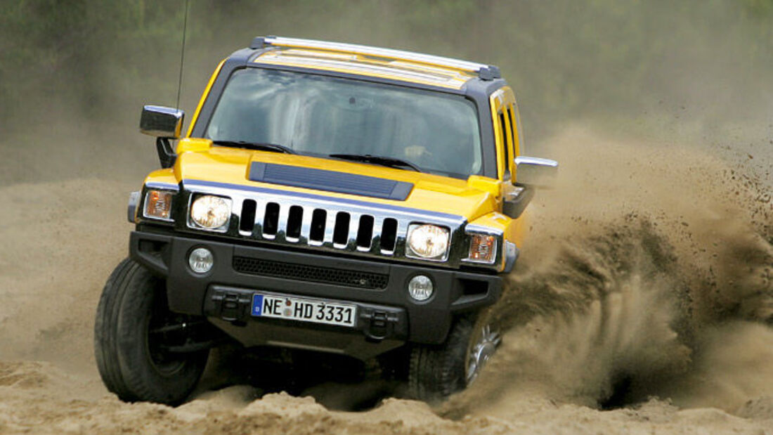Supertest Hummer H3
