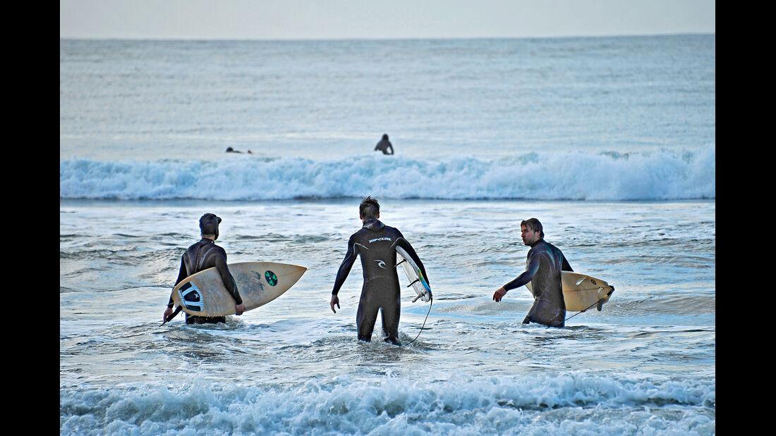 Surfer-Autos, Wellenreiter