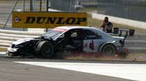 Susie Stoddart DTM-Crash