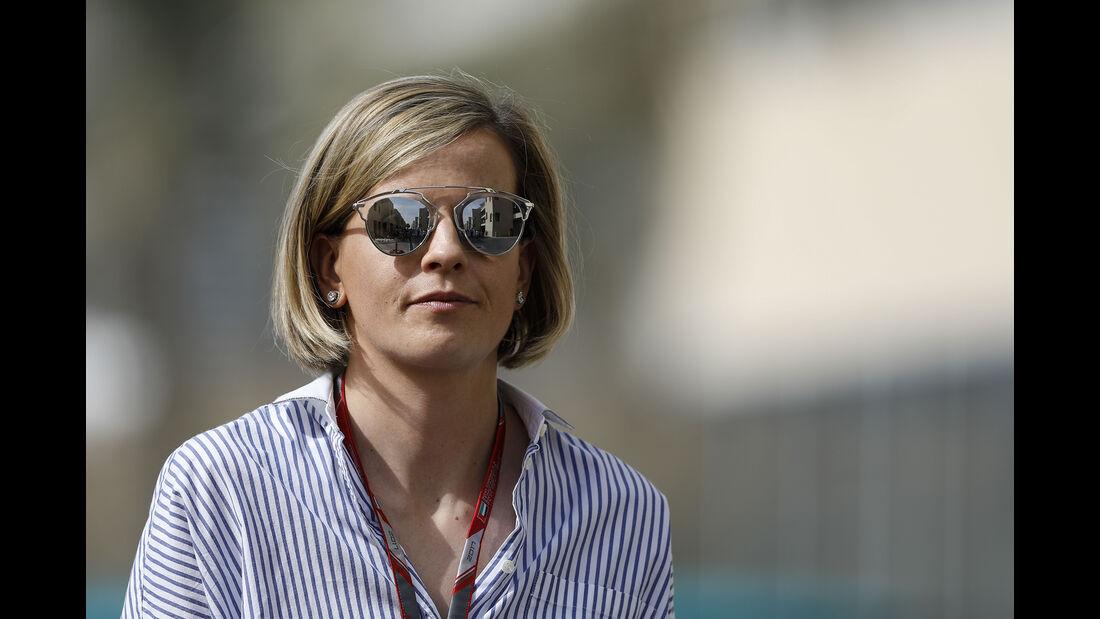 Susie Wolff - Formel 1 - GP Abu Dhabi - 24. November 2017