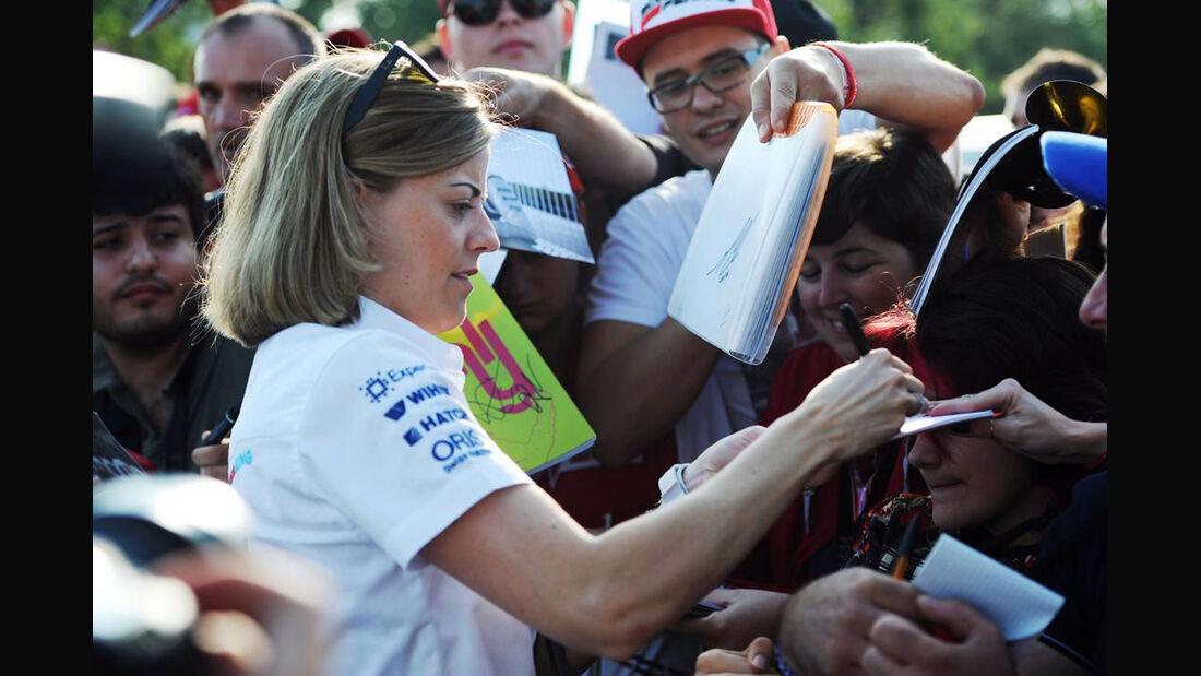 Susie Wolff - Formel 1 - GP Italien - 6. September 2014