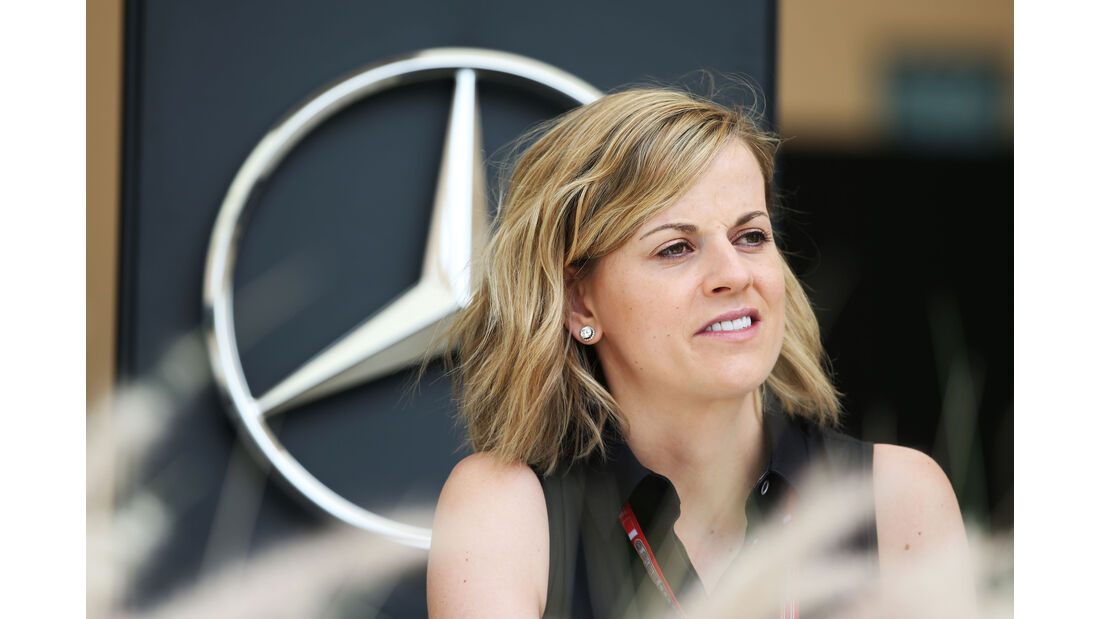 Susie Wolff - GP Bahrain - Formel 1 - 1. April 2016