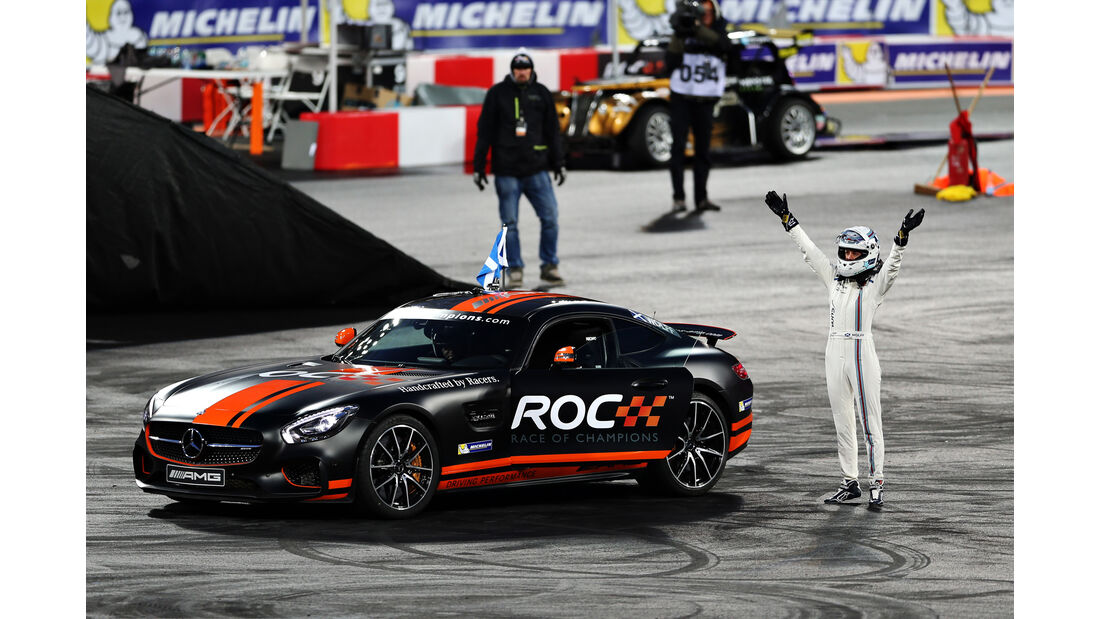 Susie Wolff - Race of Champions - London - 2015