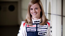 Susie Wolff Williams 2012