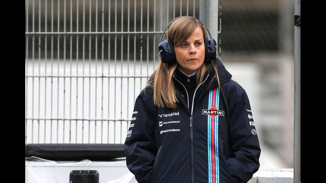 Susie Wolff - Williams - F1 Test Barcelona (1) - 13. Mai 2014