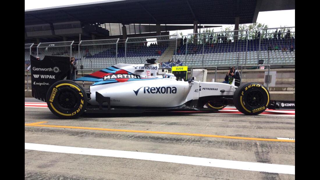 Susie Wolff - Williams - F1 Test Spielberg - 2015