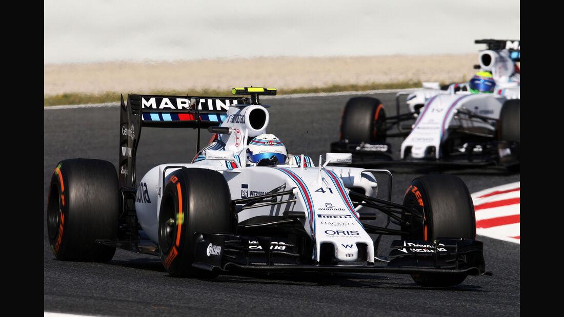 Susie Wolff - Williams - Formel 1 - GP Spanien - Barcelona - 8. Mai 2015
