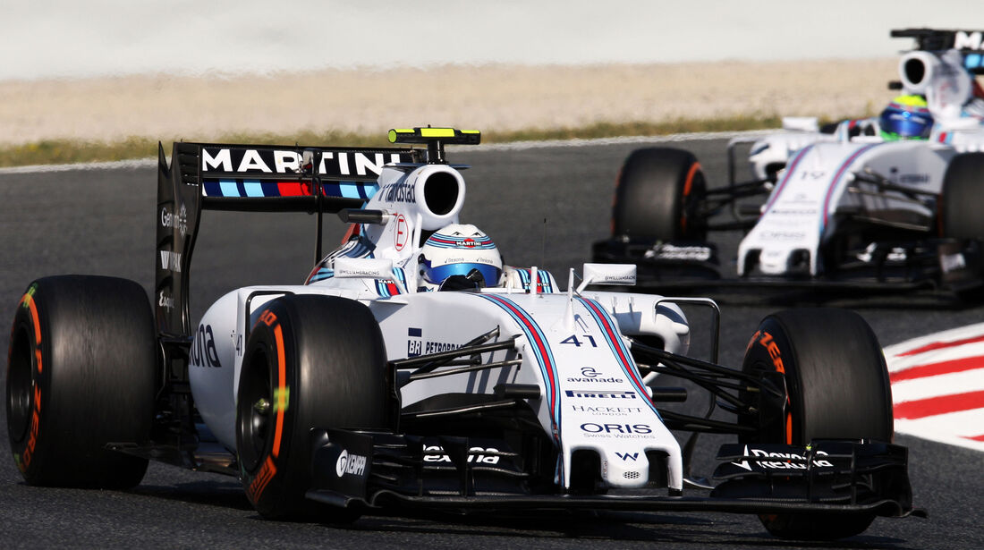 Susie Wolff - Williams - Formel 1 - GP Spanien - Barcelona - 8. Mai 2015