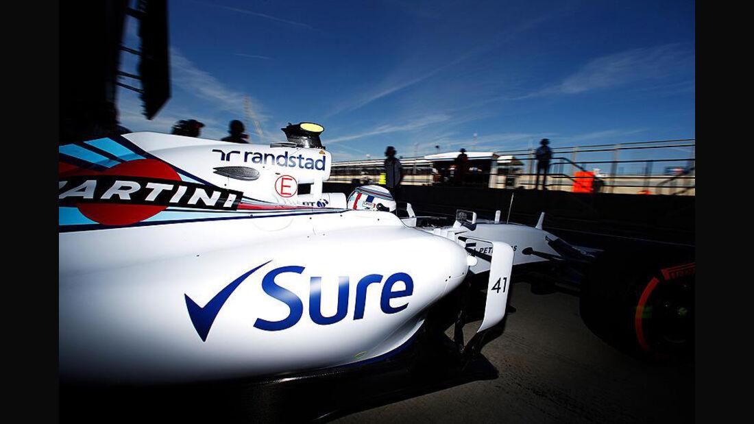 Susie Wolff - Williams - GP England - Silverstone - Freitag - 3.7.2015