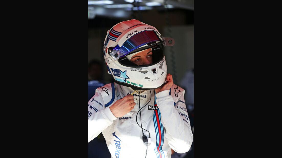 Susie Wolff - Williams - GP Spanien - Barcelona - Freitag - 8.5.2015