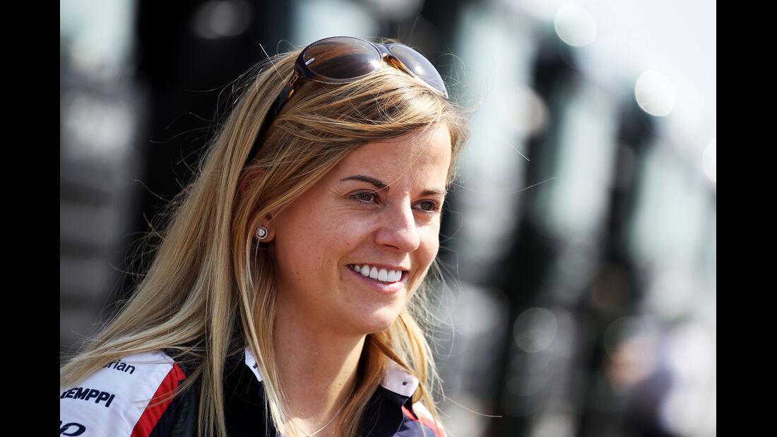 Susie Wolff - Williams - Young Driver Test - Silverstone - 17. Juli 2013