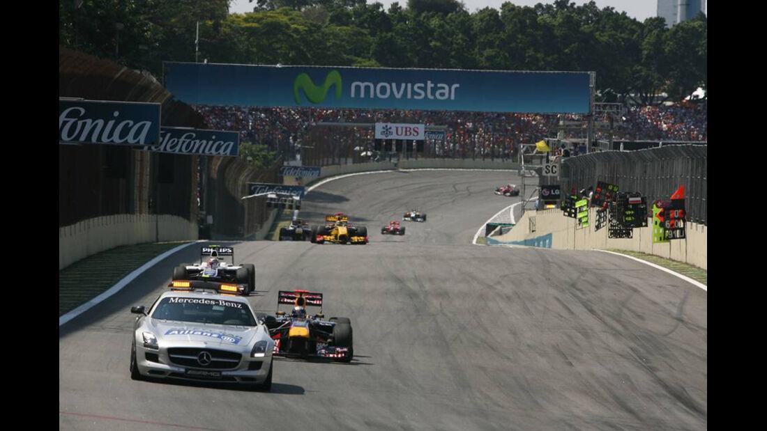 Sutil Buemi GP Brasilien 2010