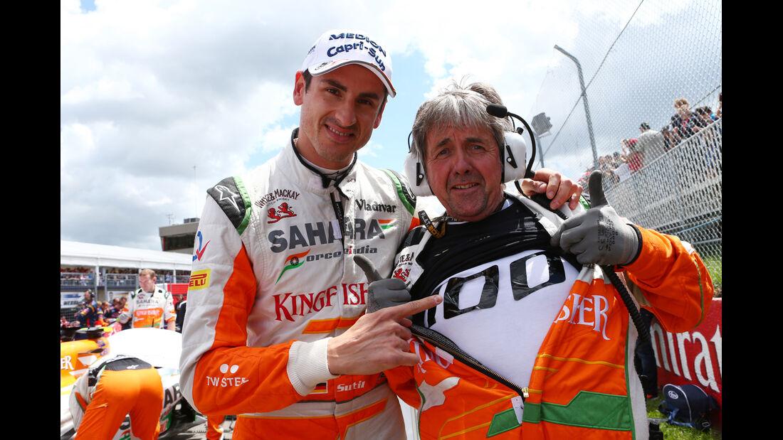 Sutil - Force India - GP Kanada 2013