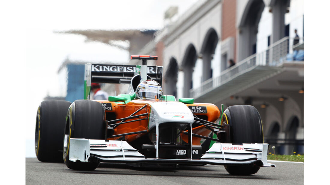 Sutil Force India GP Türkei 2011