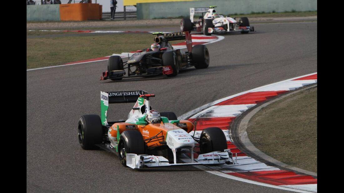 Sutil Formel 1 GP China 2011