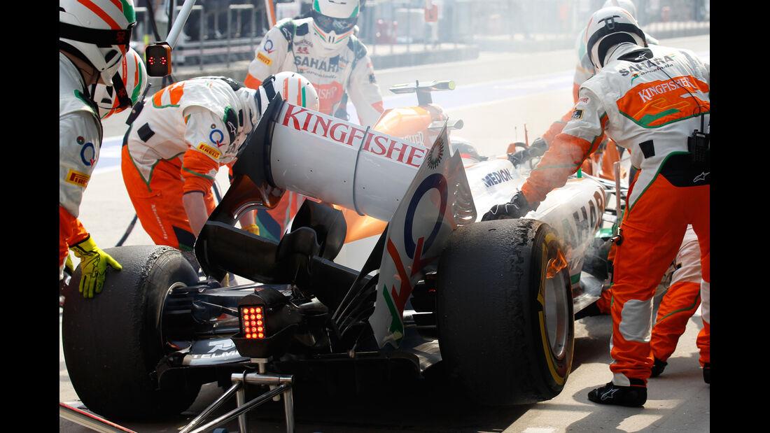 Sutil - GP China - Crash - 2013