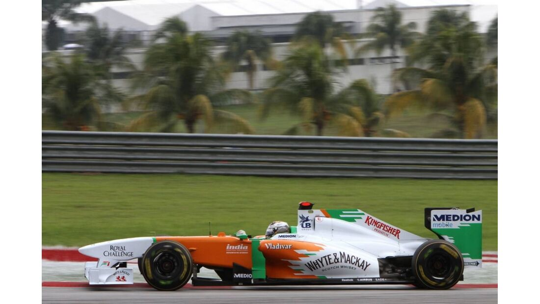 Sutil GP Malaysia 2011 Formel 1