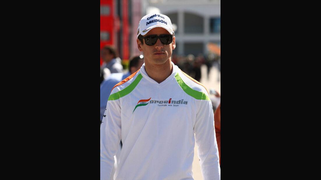 Sutil GP Türkei 2011