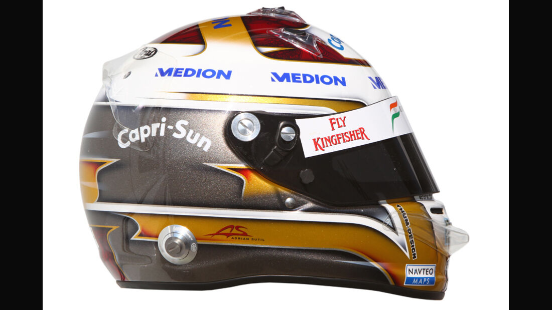 Sutil Helm 2011