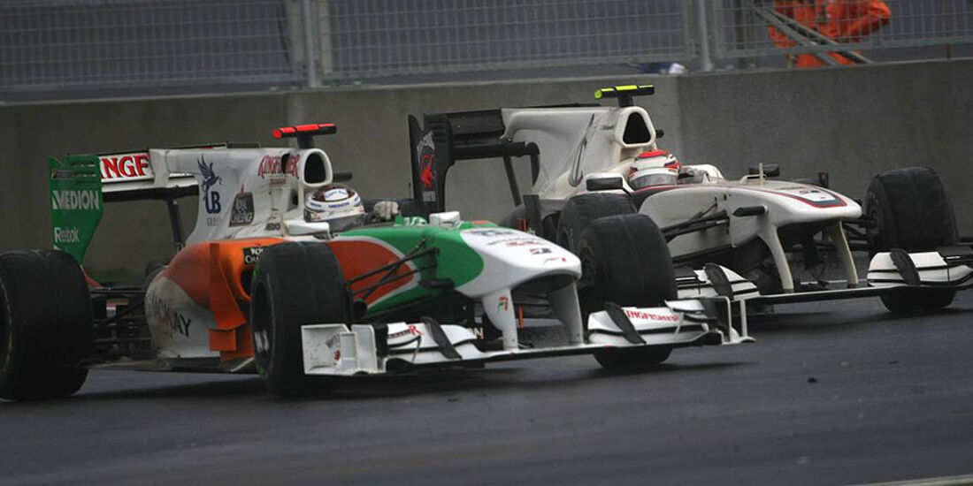 Sutil Kobayashi GP Korea