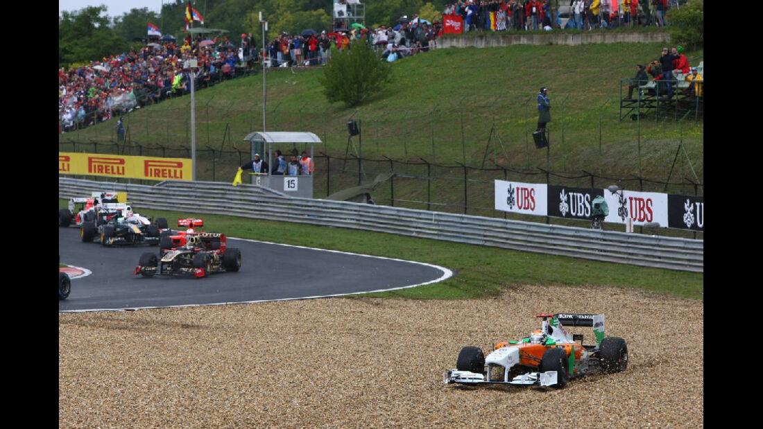 Sutil - Noten - GP Ungarn - Formel 1 - 31.7.2011