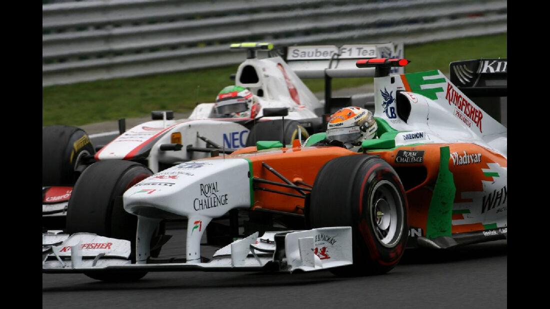 Sutil Perez - GP Ungarn - Formel 1 - 31.7.2011 - Highlights