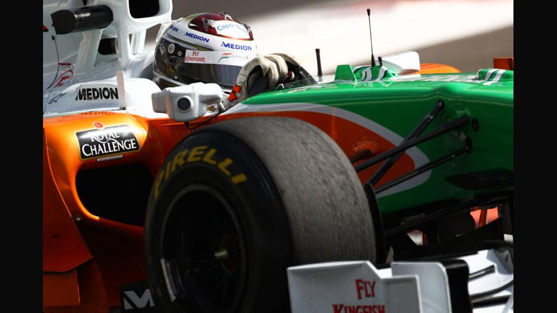 Sutil - Pirelli Test