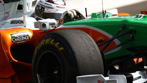 Sutil - Pirelli Test