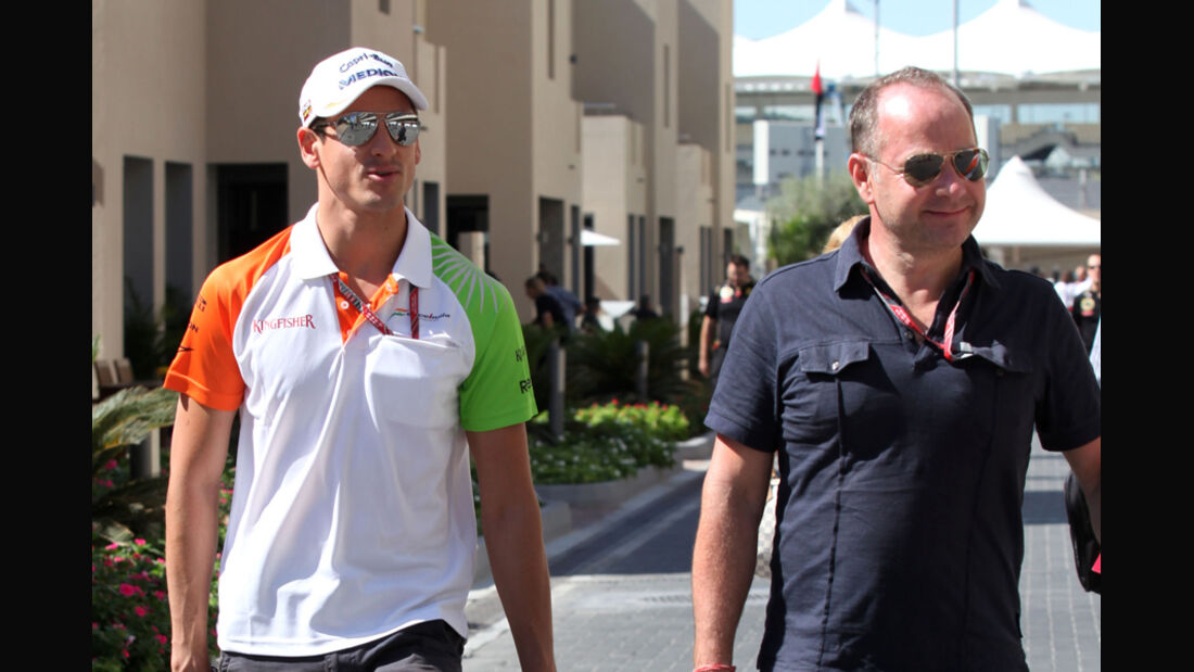 Sutil und Manager Zimmermann