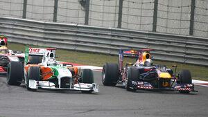 Sutil vs. Vettel