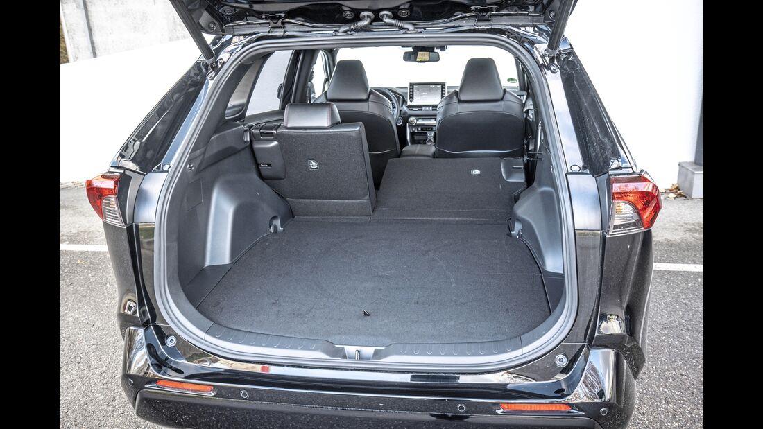Suzuki Across, ET, Kofferraum