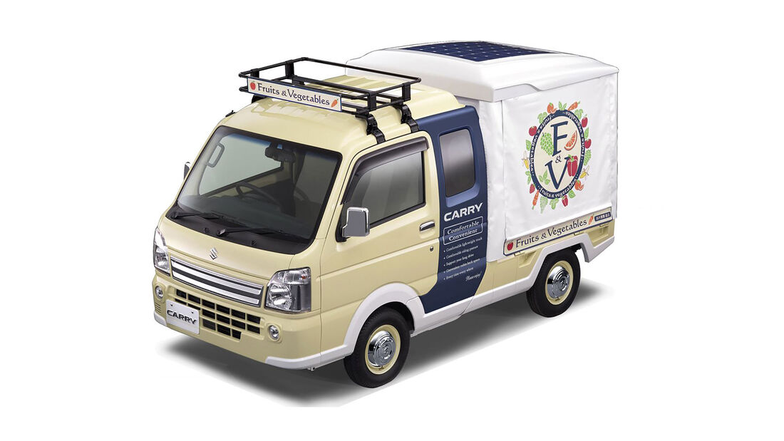 Suzuki Carry Open-Air Market Concept Tokyo Motor Show 2017